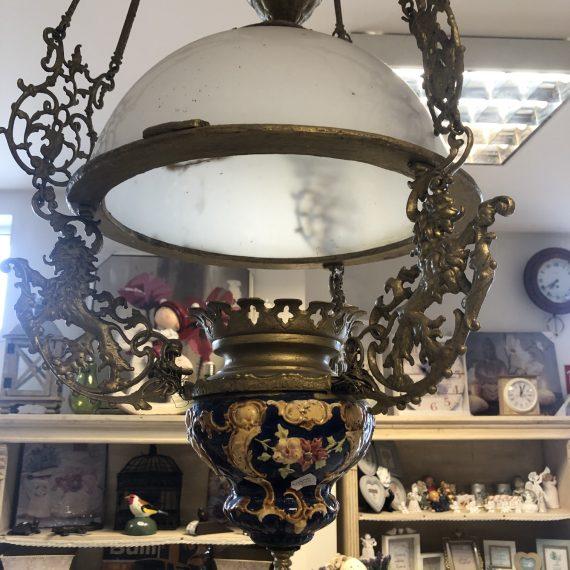 Antik lüszter lámpa