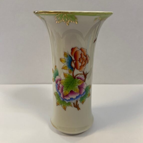 Herendi Viktória mintás váza 12 cm