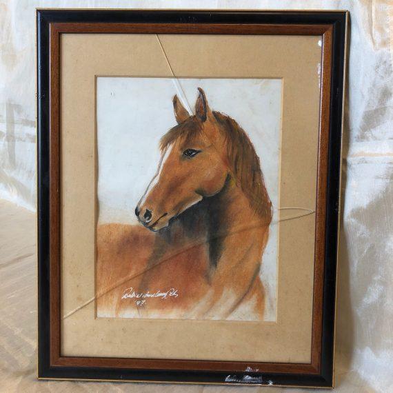 Jelzett lovas kép