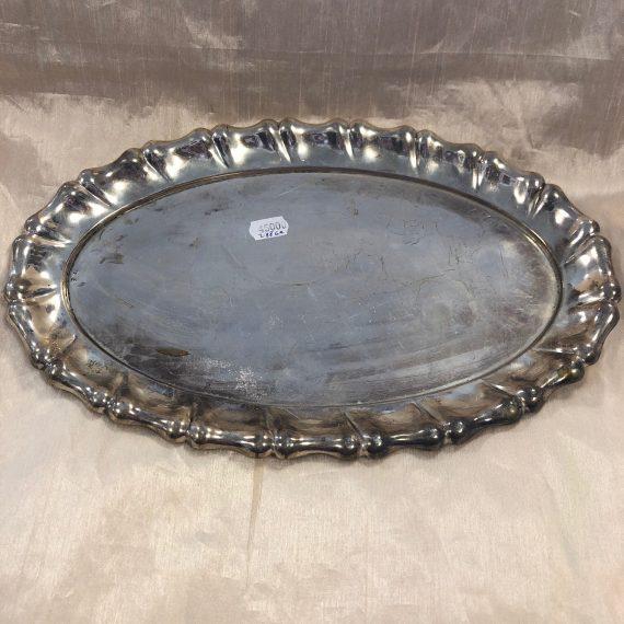 Antik ezüst tálca