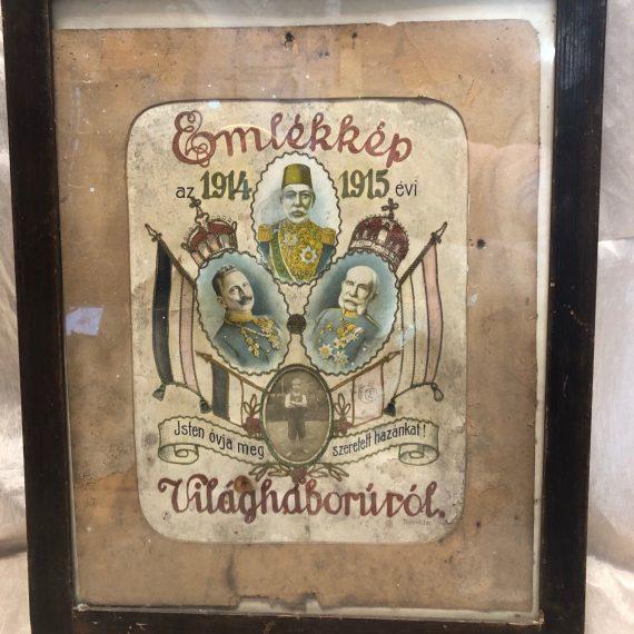 Első világháborús emlékkép