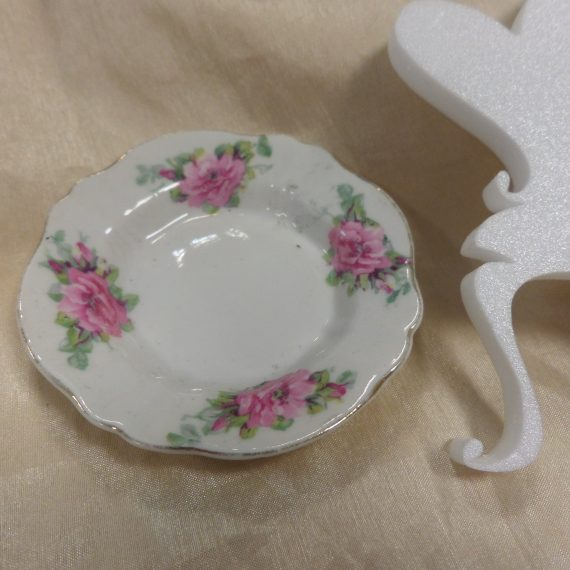 Gyermek teáskészlet/kerek tányérka