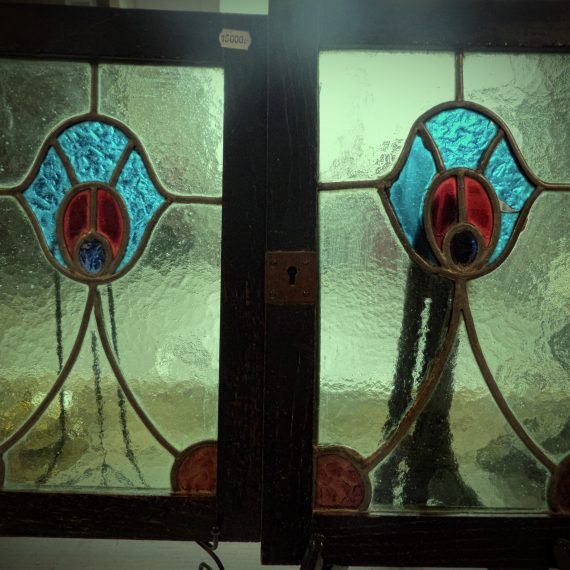 Ólomüveg ablaktábla párban
