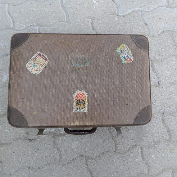 Retró bőrönd